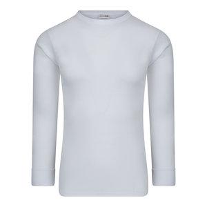 Heren T-shirt met lange mouw M3000 Wit